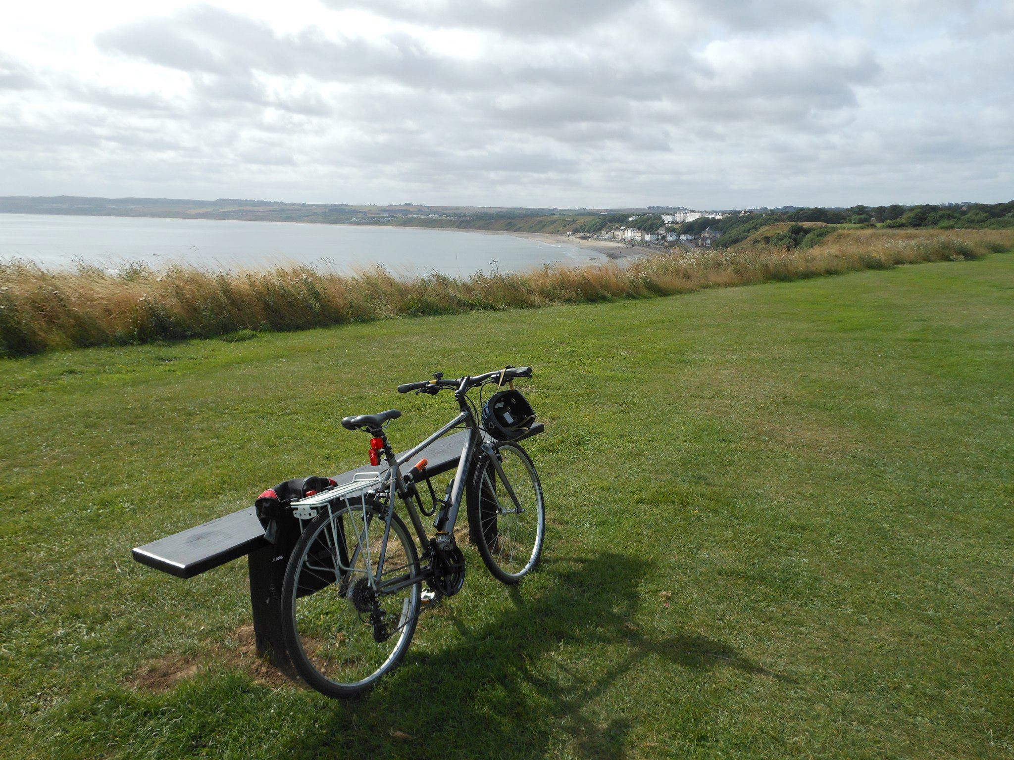 bike at filey